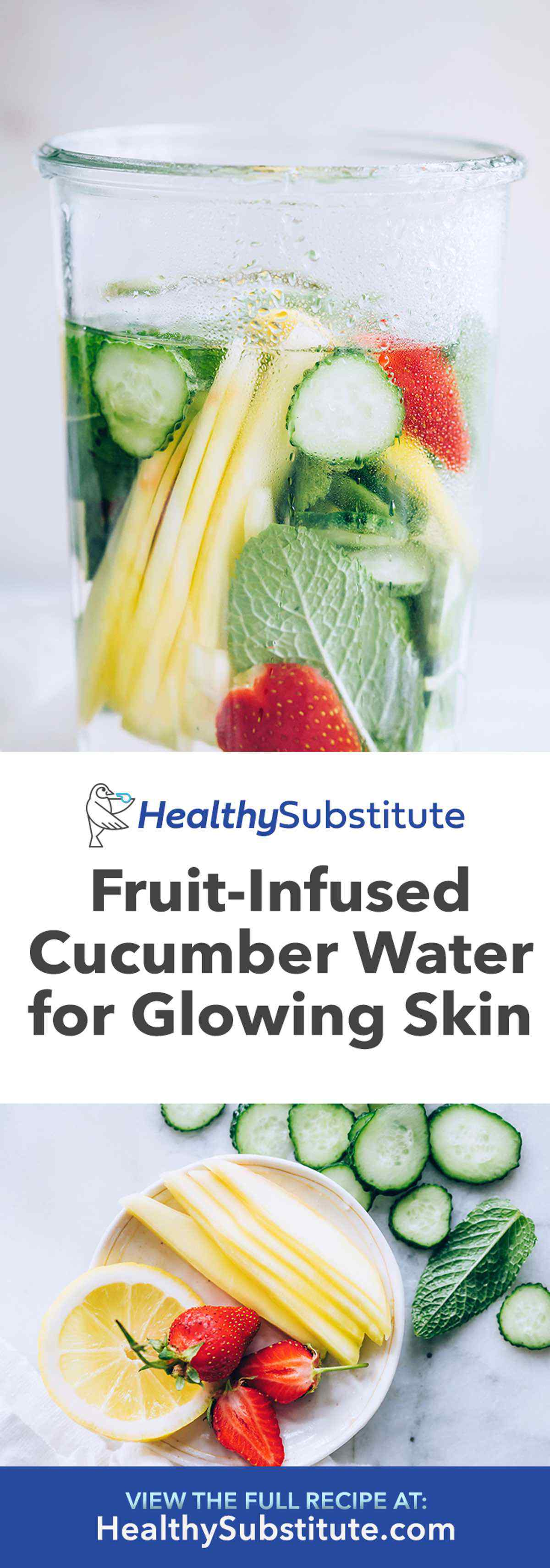 Fruit-Infused Cucumber Water Recipe