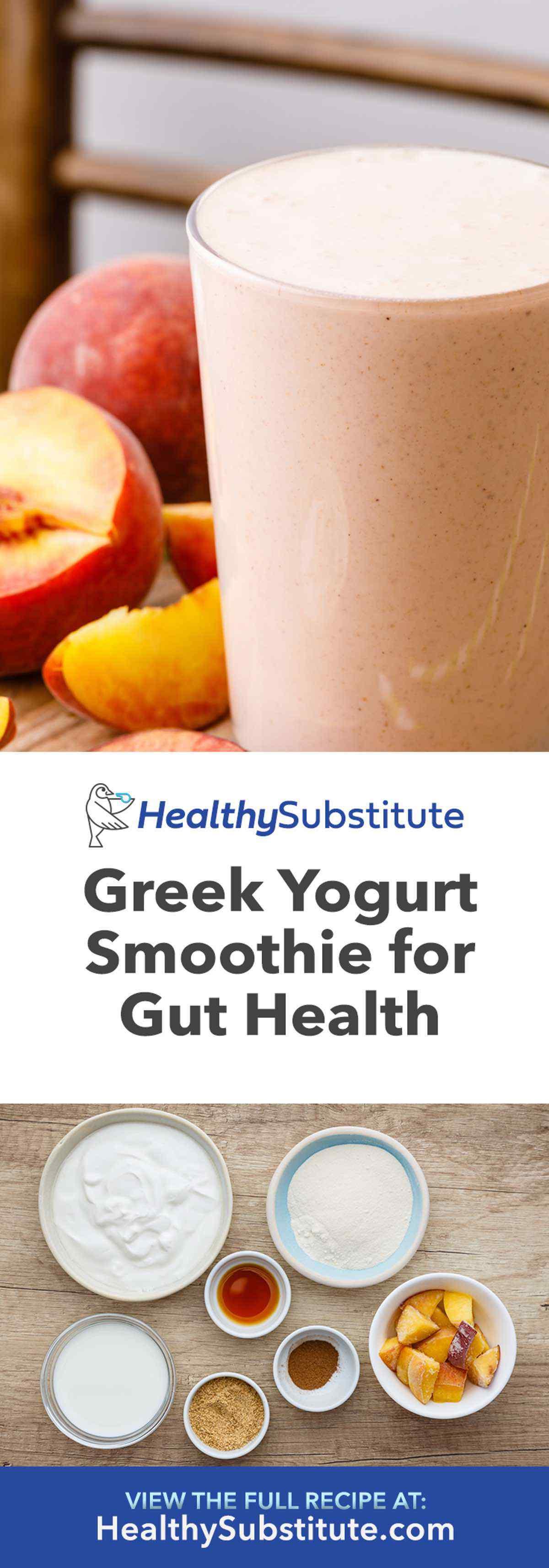 High Protein Greek Yogurt Smoothie