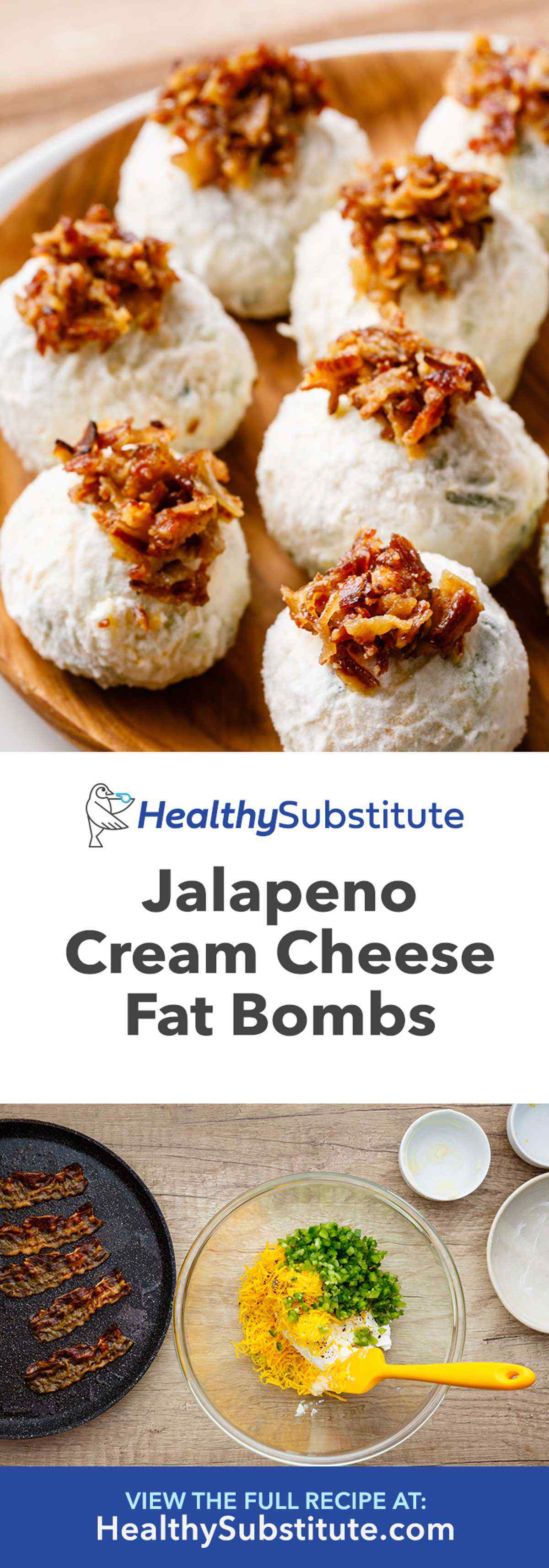Jalapeno Cream Cheese Fat Bombs