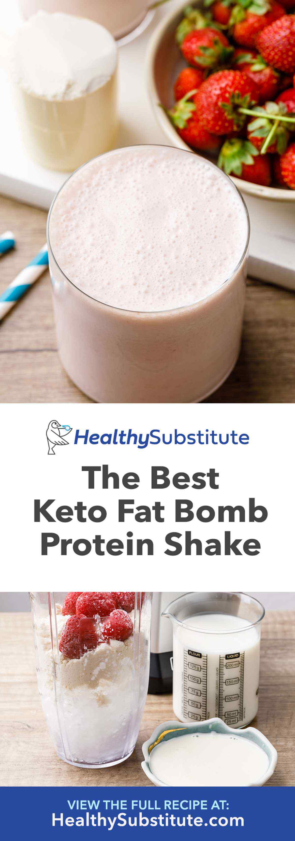 Keto Fat Bomb Protein Shake