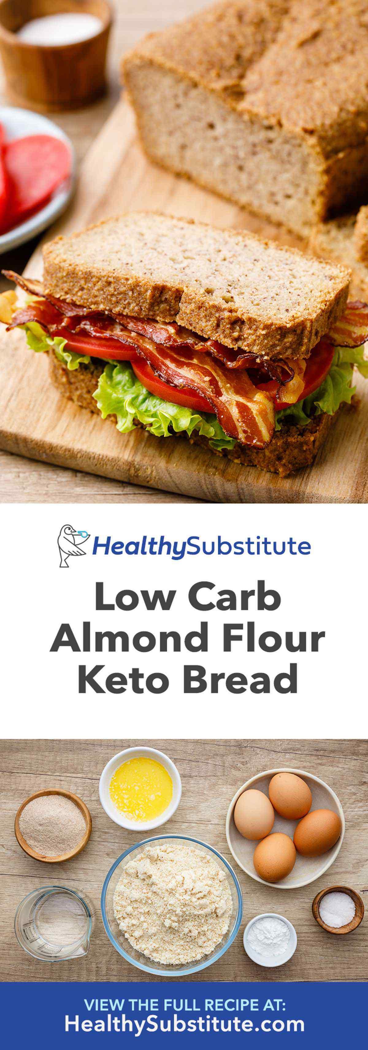 Low Carb Almond Flour Keto Bread Recipe