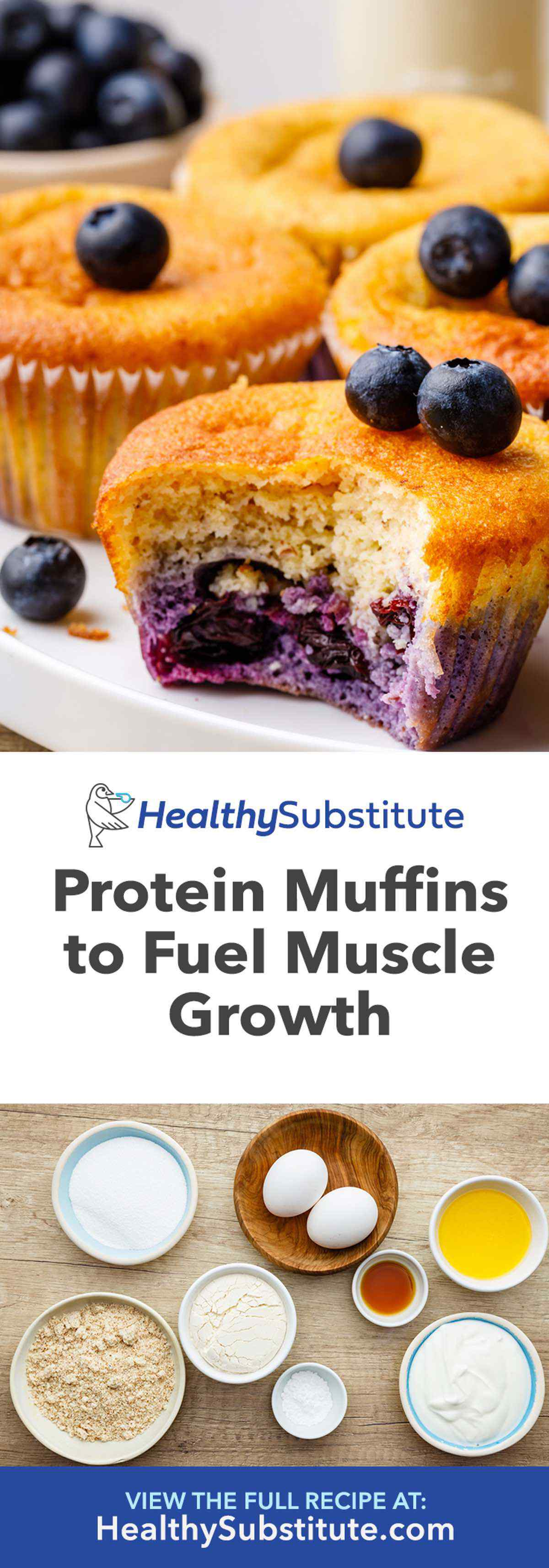 Low Carb Protein Muffins