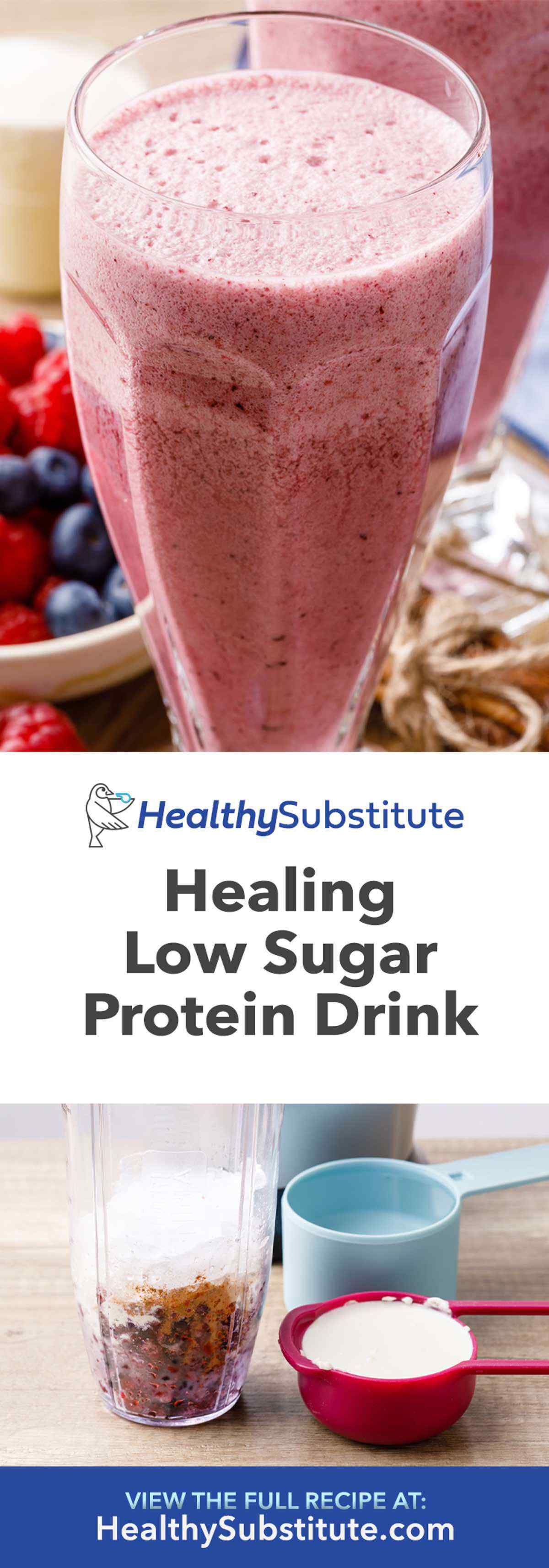 Low Sugar Protein Drink