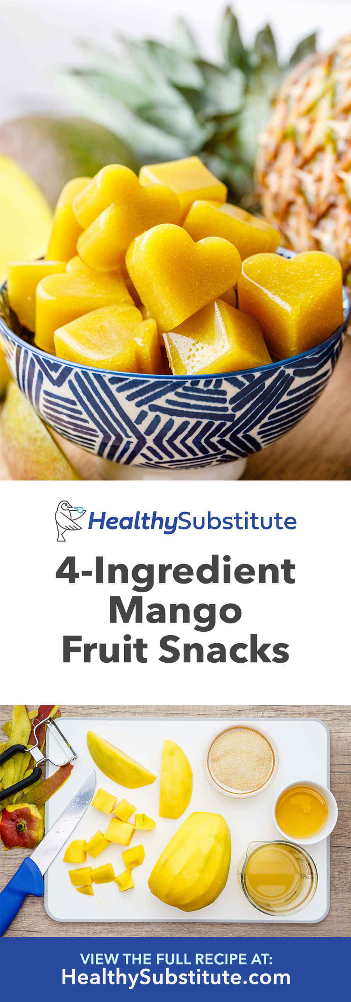 Mango Fruit Gummies