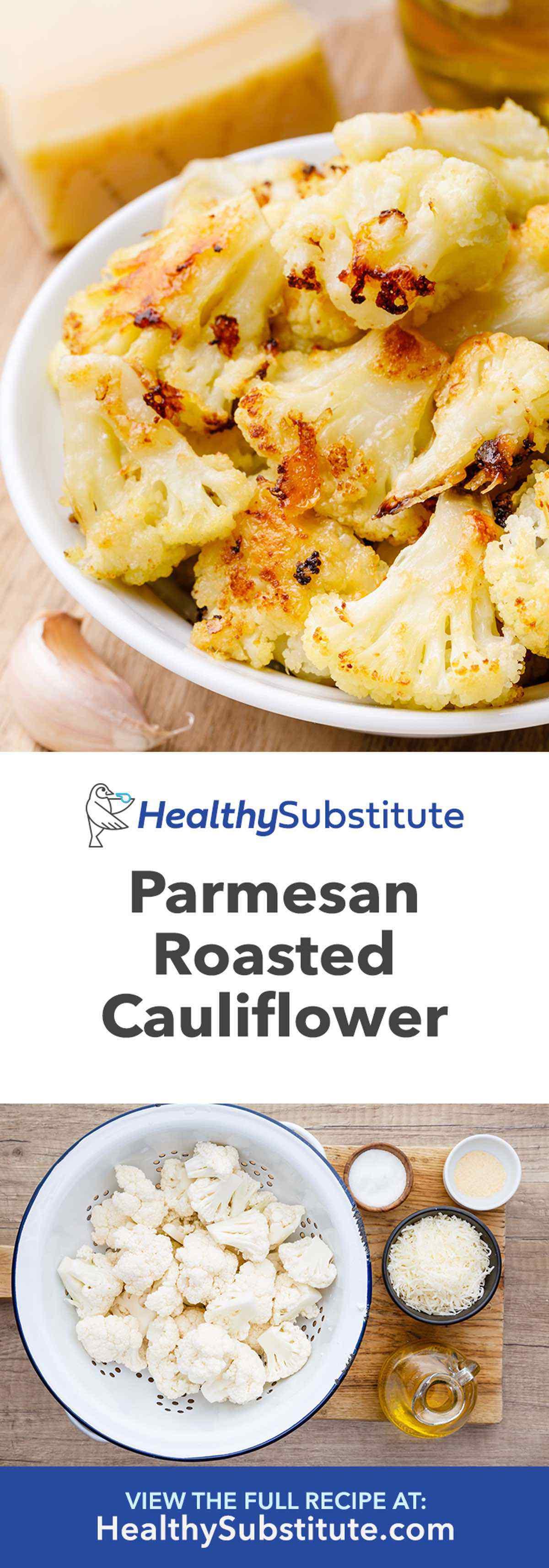 Parmesan Roasted Cauliflower Bites