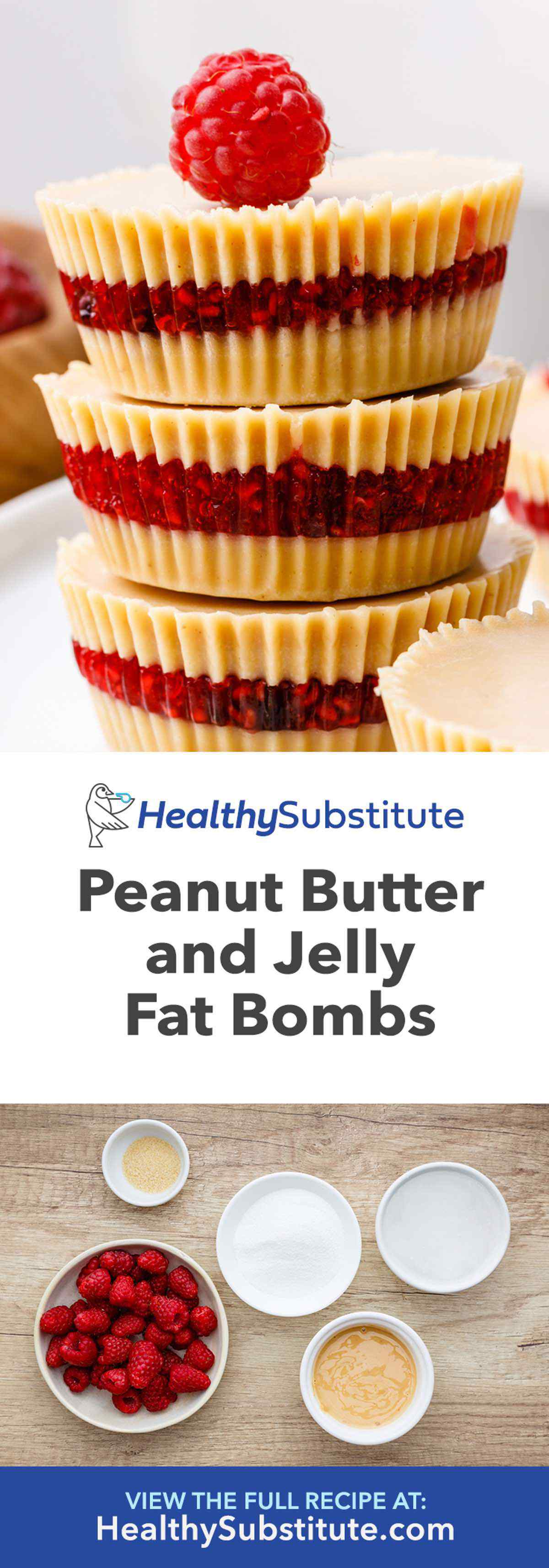 Peanut Butter and Jelly Fat Bombs