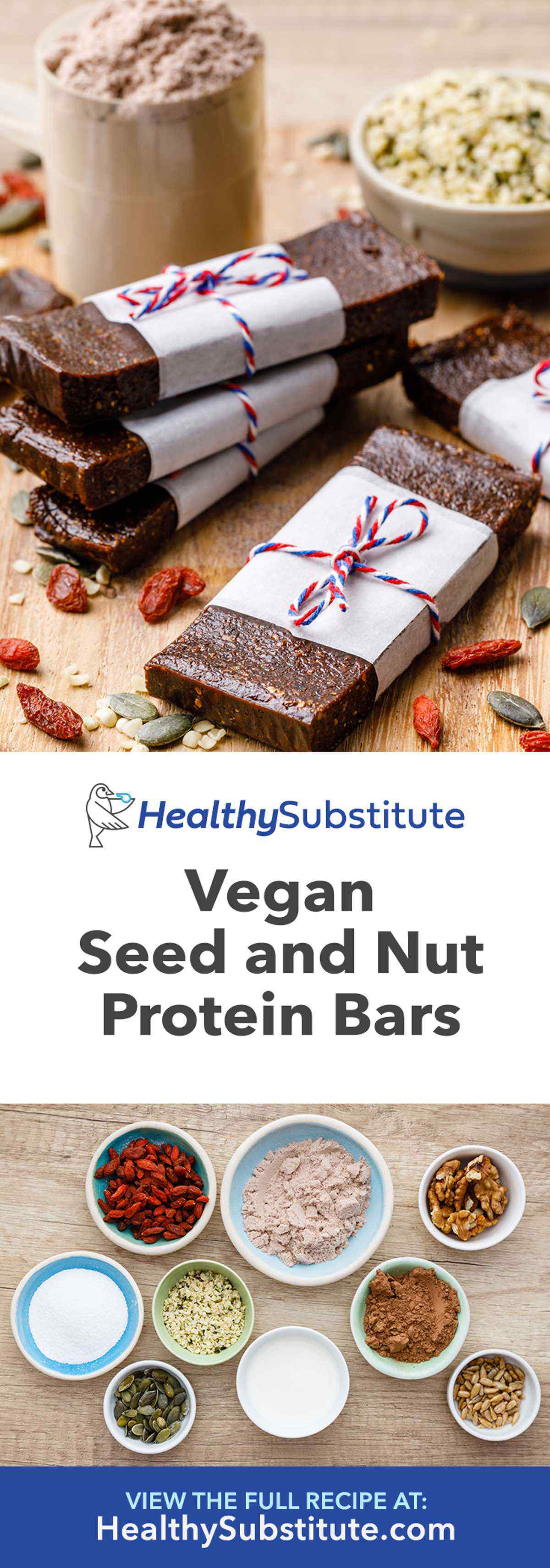 Seed and Nut Vegan Protein Bars