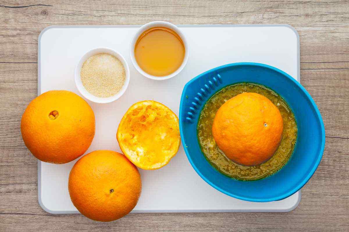 Homemade Citrus Fruit Snacks