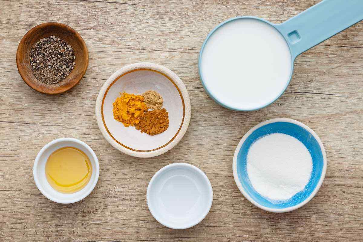 Golden Milk Turmeric Latte