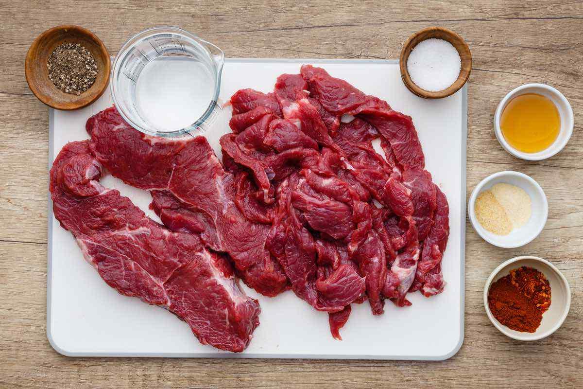 Simple Beef Jerky