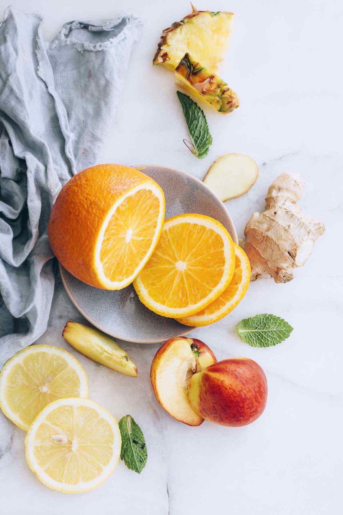 Vitamin C Sunrise Water