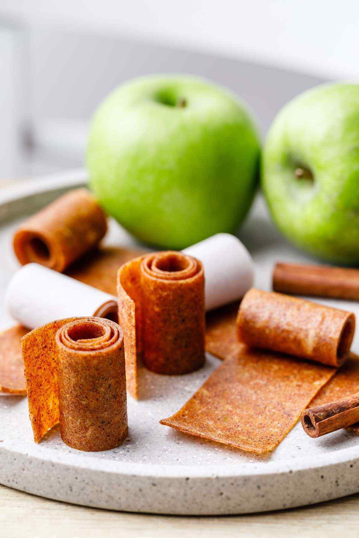 Cinnamon Apple Pie Fruit Leather