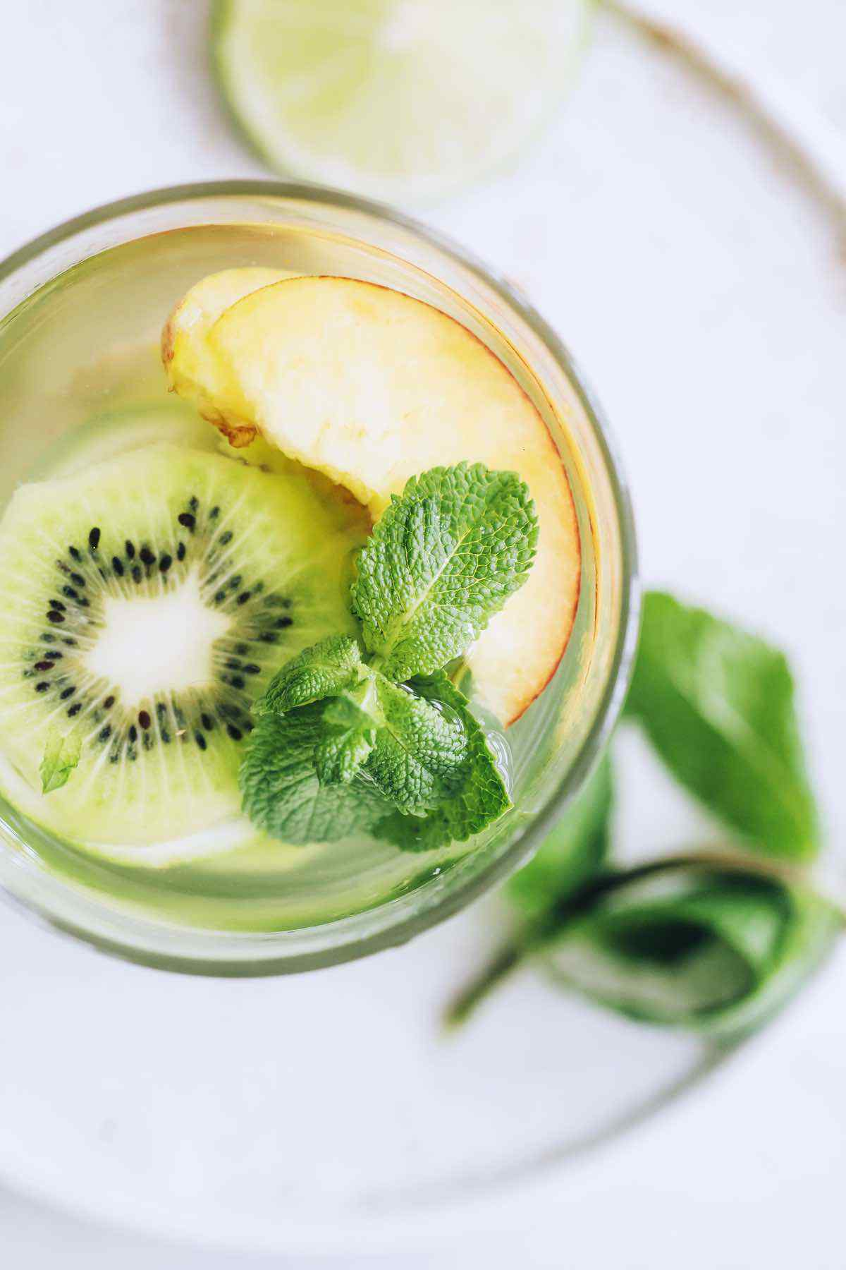 Infused Water for People with Dry Skin