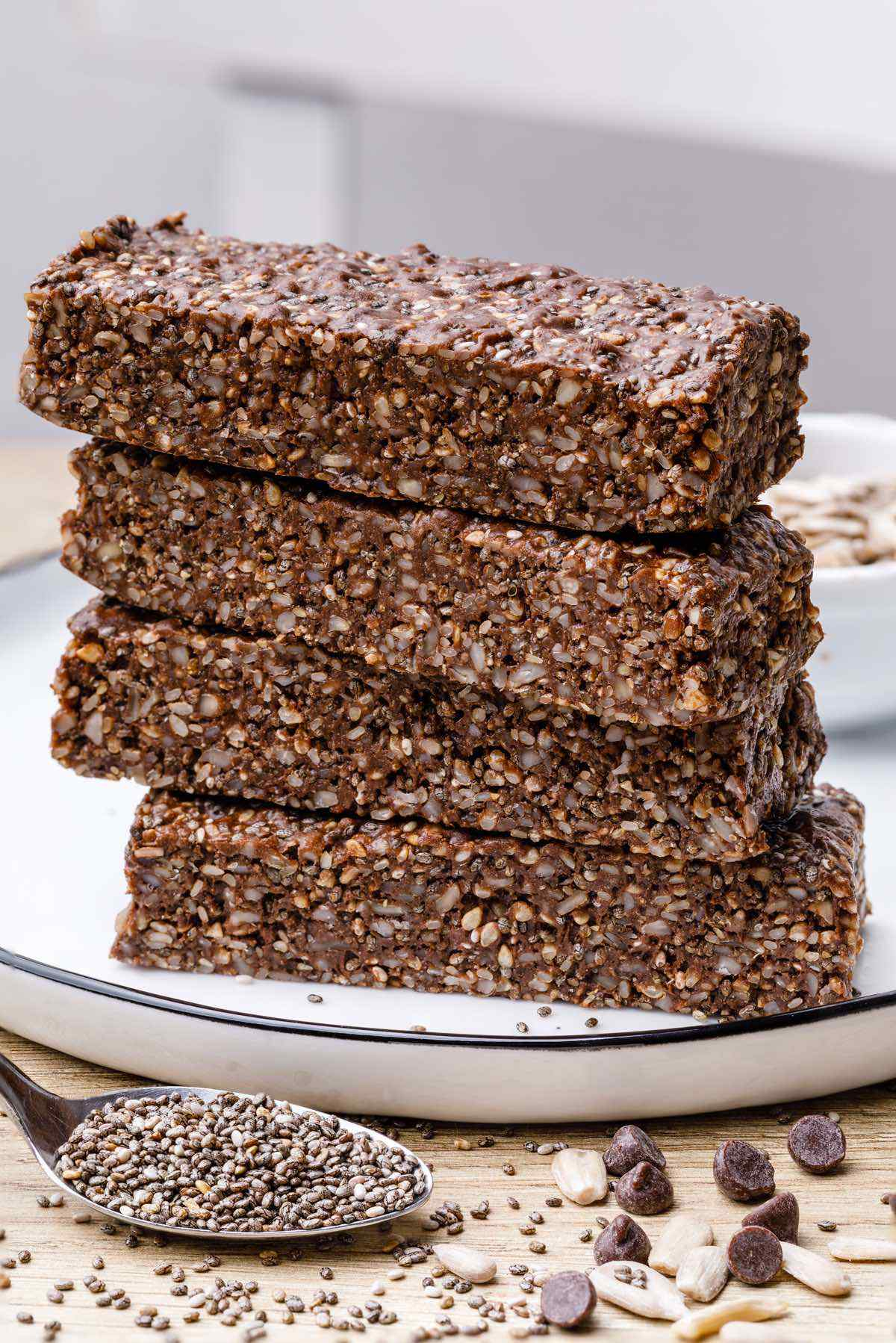 Healthy Homemade Low Sugar Protein Bars