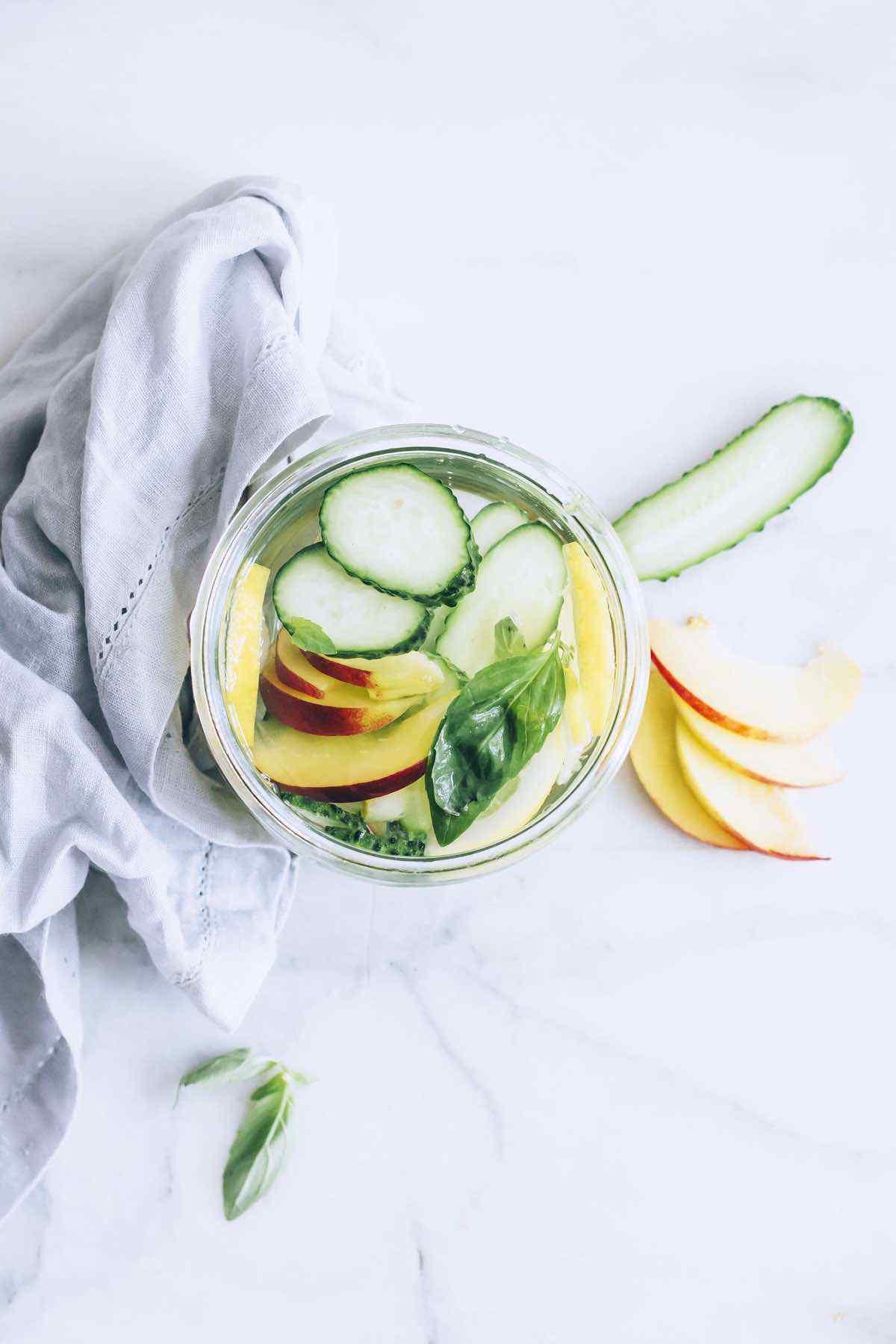 Best Peach-Infused Water