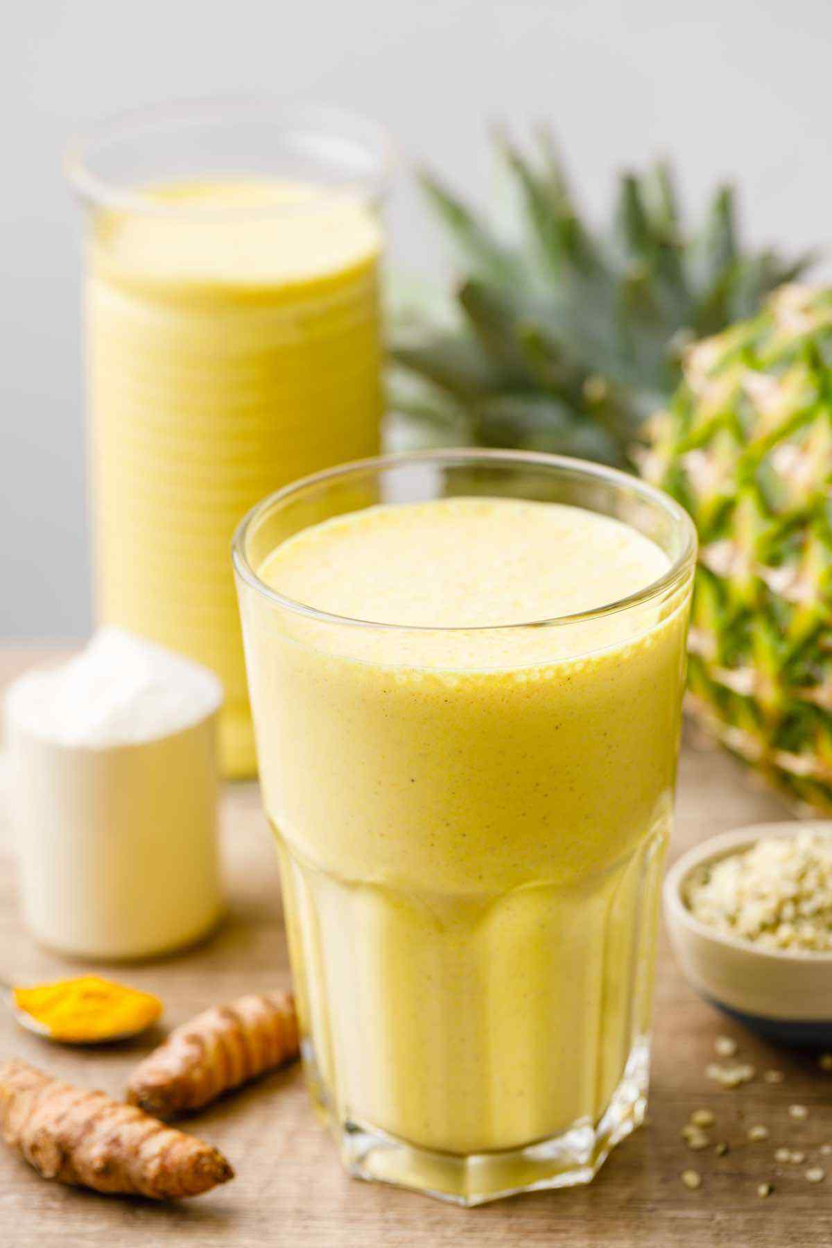 Turmeric Protein Shake for Joint and Back Pain