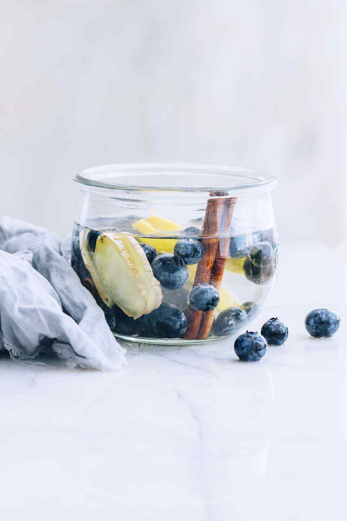 Blueberry Infused Water