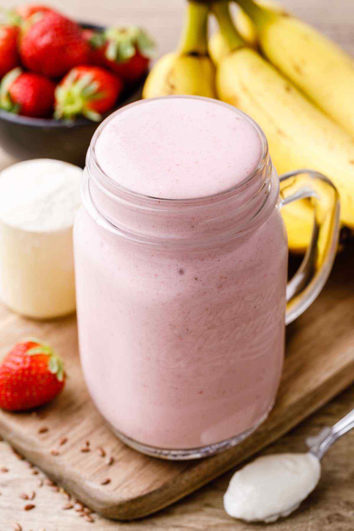 Probiotic-Rich Greek Yogurt Protein Shake