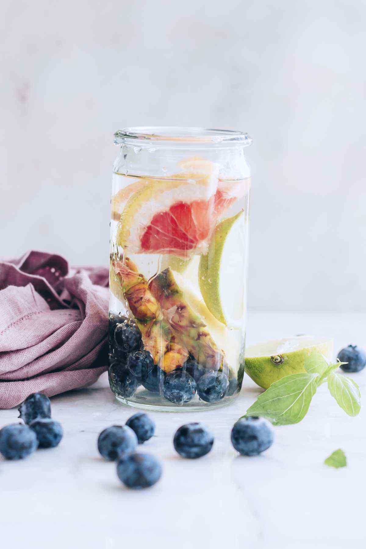 Fruit-Infused Water to Curb Sugar Cravings