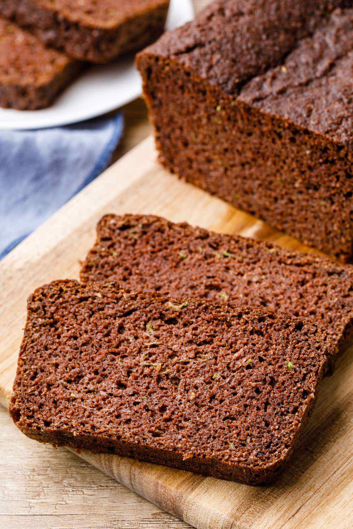 Chocolate Low Carb Zucchini Bread