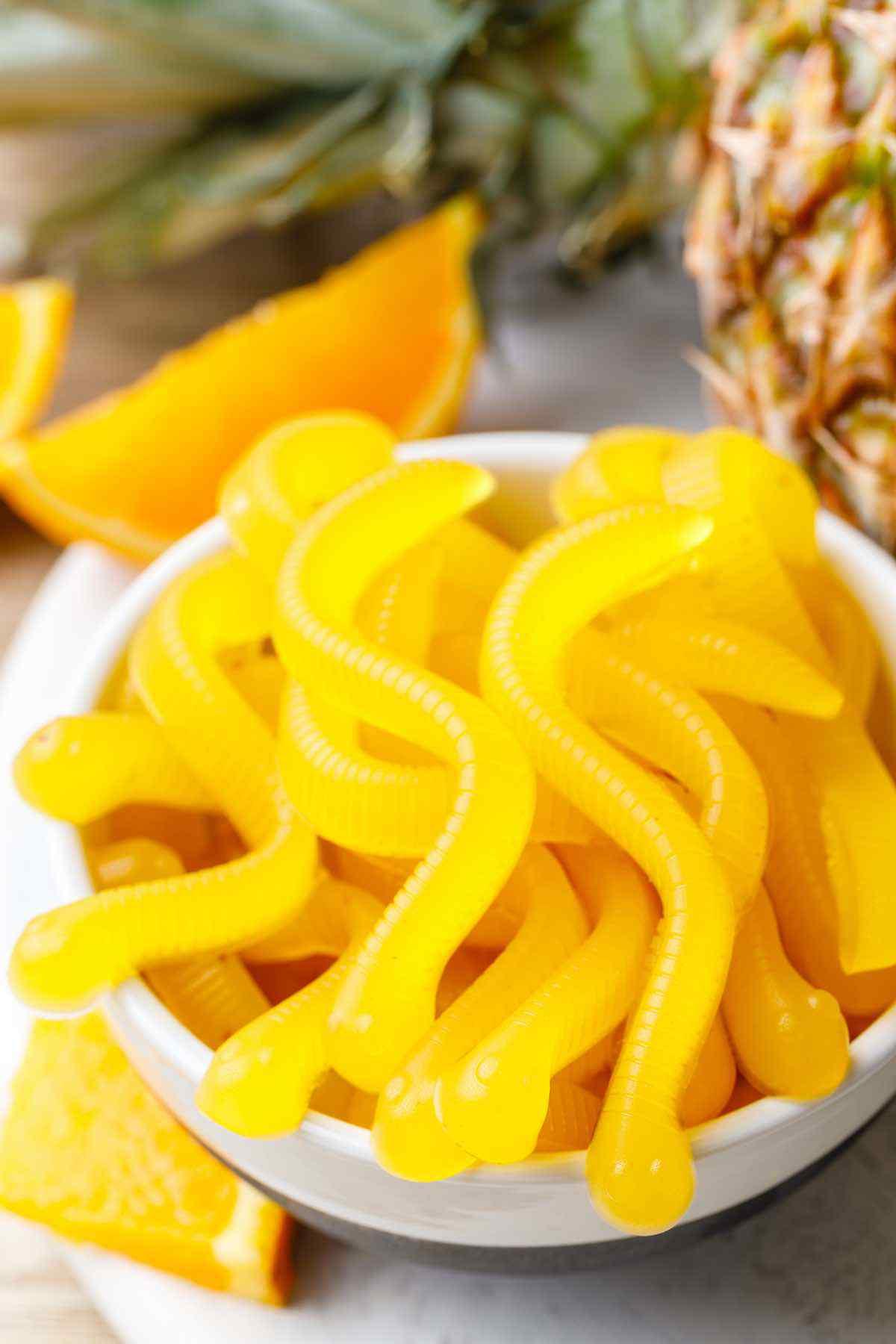 4-Ingredient Pineapple Fruit Snacks