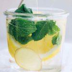 Honey Lemon Ginger Infused Sparkling Water