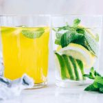 Hot and Cold Lemon Mint Water
