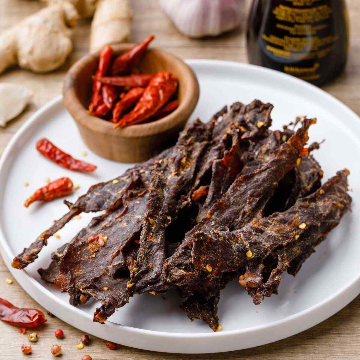 Sizchuan Beef Jerky For Spice Lovers Numbing And Spicy