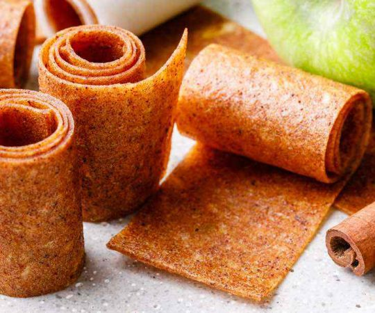 Cinnamon Apple Pie Fruit Leather