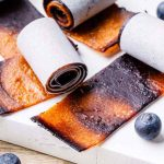 Blueberry and Peach Pie Fruit Leather