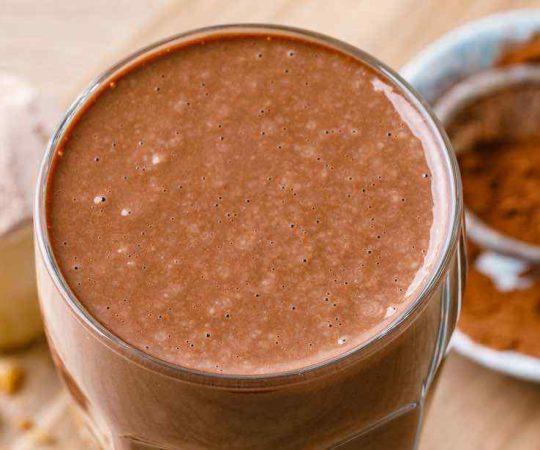 Double Dark Chocolate Protein Shake
