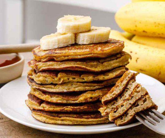 Low Carb Coconut Flour Paleo Protein Pancakes