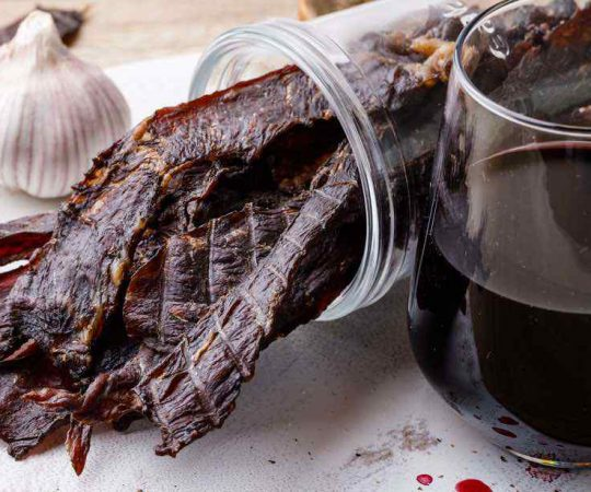 Gourmet Homemade Beef Jerky Recipe
