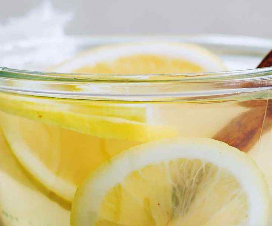 Honey Lemon Water Recipe