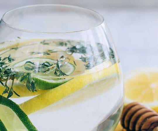 Lemon Lime Honey Water