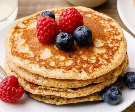 Low Carb Almond Flour Pancakes