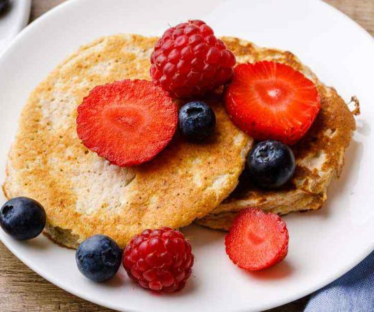 Easy Low Carb Protein Pancakes