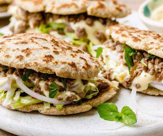 Low Carb Paleo Naan Bread