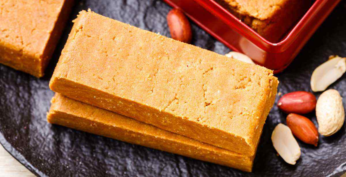 4 Ingredient Low Carb Peanut Butter Protein Bars Low Sugar Healthy Substitute