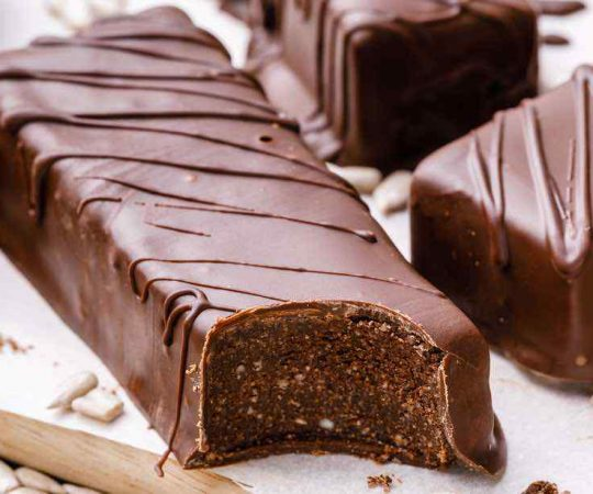 Double Chocolate Nut-Free Protein Bars