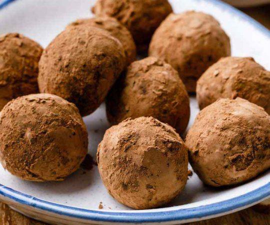 Chocolate Almond Butter Paleo Protein Balls