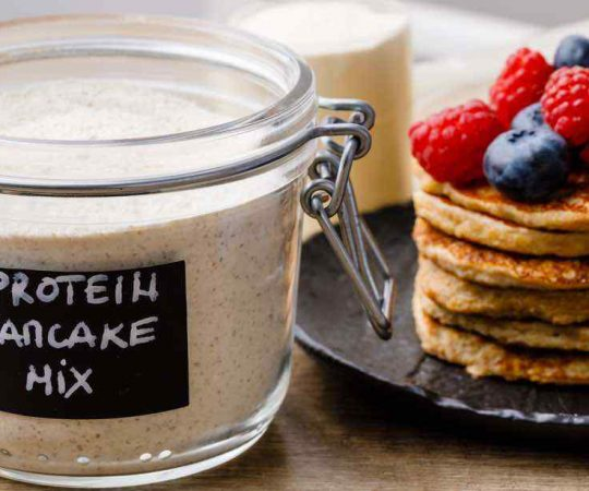 Make-Ahead Protein Pancake Mix