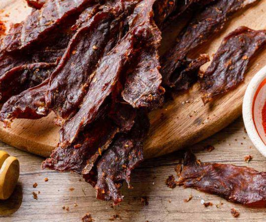 Simple Beef Jerky