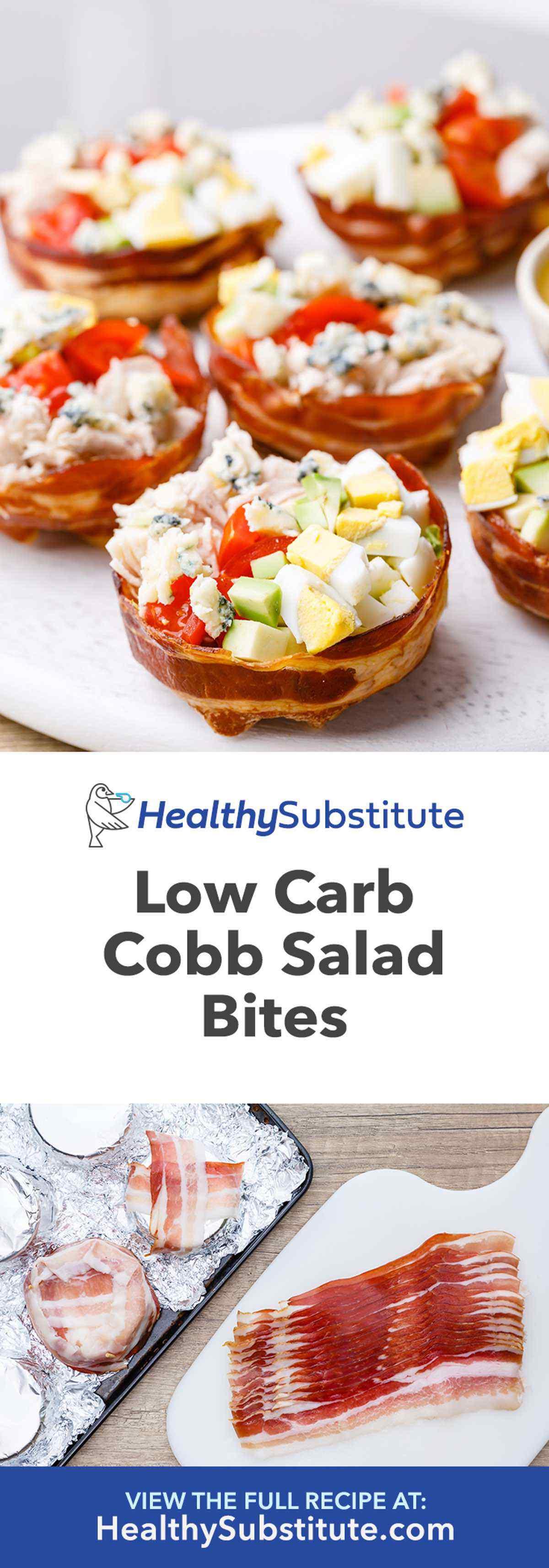 Cobb Salad Bites