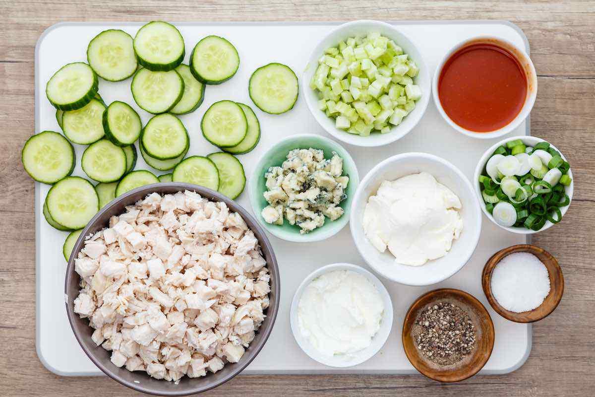 Chicken Salad Bites