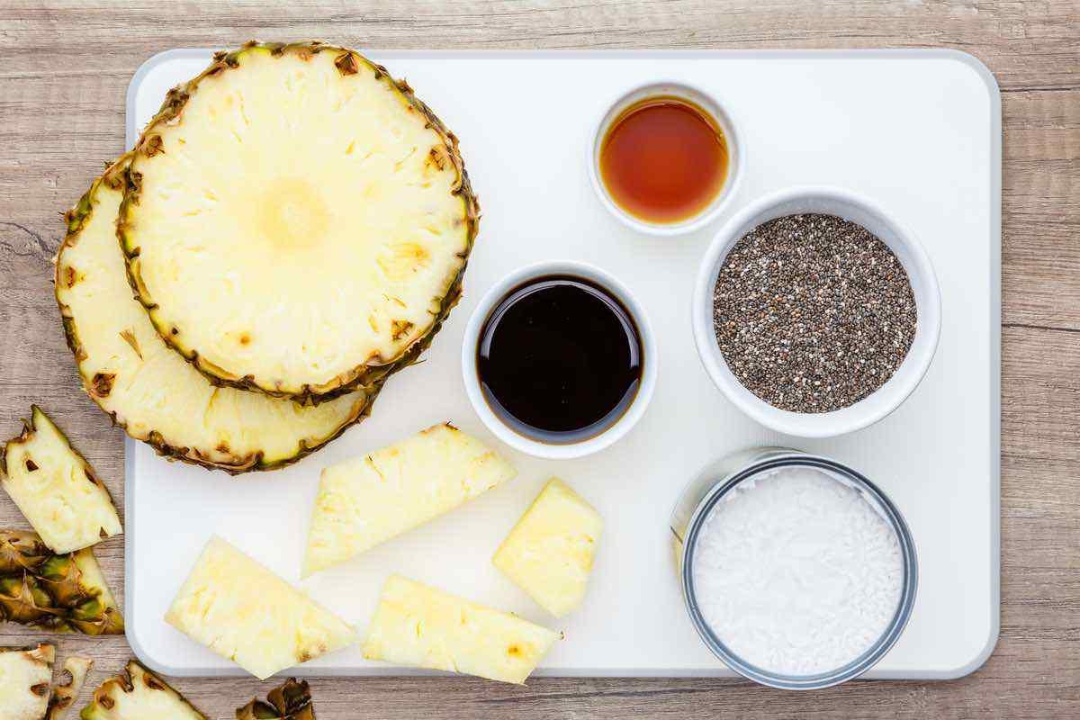 Healthy Coconut Milk Chia Pudding