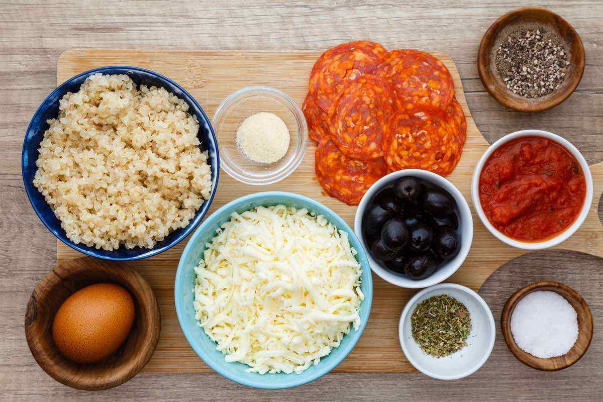 Quinoa Pizza Bites for a Healthy Snack