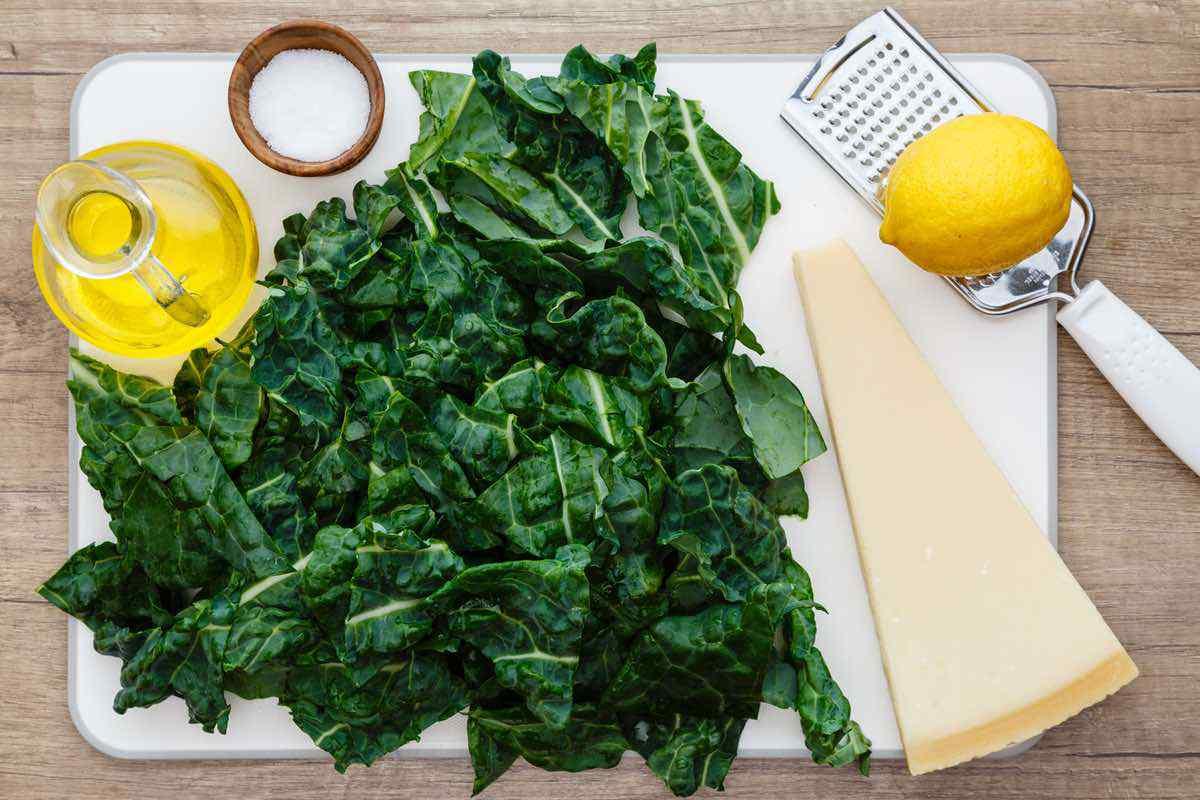 Lemon Parmesan Homemade Kale Chips