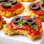 Paleo Cauliflower Pizza Bites