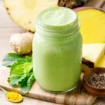 Turmeric Ginger Green Smoothie for Weight Loss